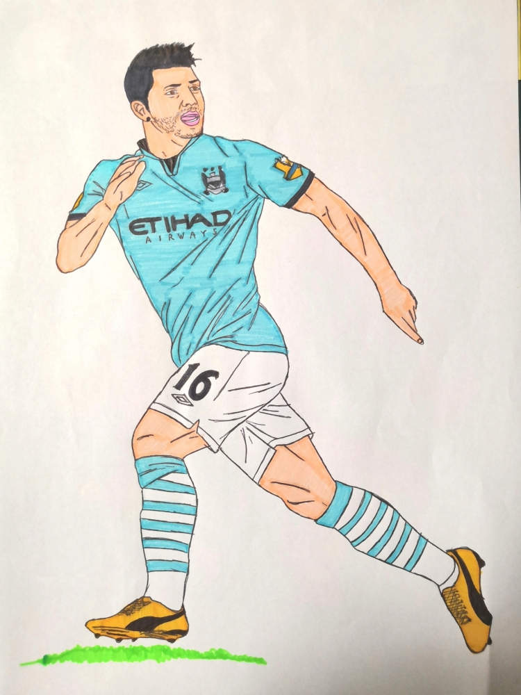 Sergio Agüero by theimperador10